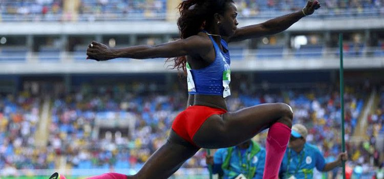 Catherine Ibargüen estará este domingo en la final del salto triple