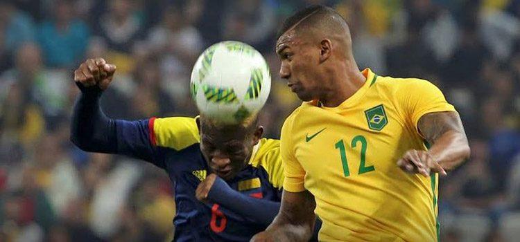 Brasil repitió la del mundial y eliminó a Colombia en los Olímpicos