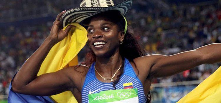 Catherine Ibargüen campeona olímpica, oro para Colombia