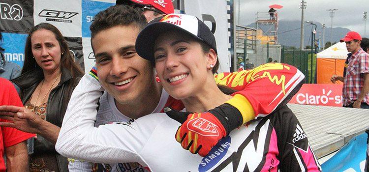 Oro y bronce olímpico en BMX para Colombia, se repitió la hazaña de Londres