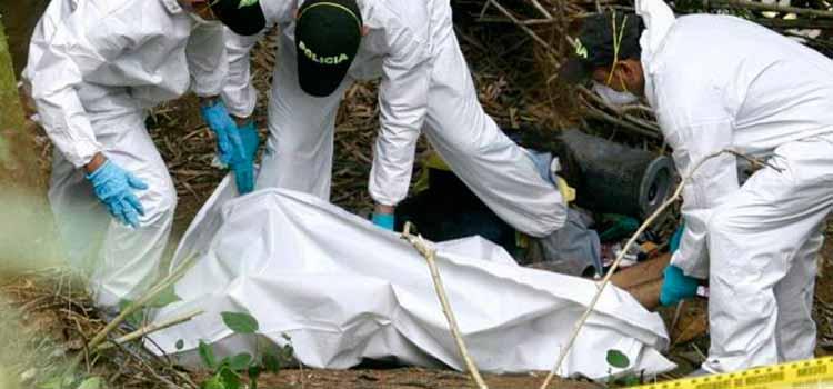 hallazgo cadaver levantamiento