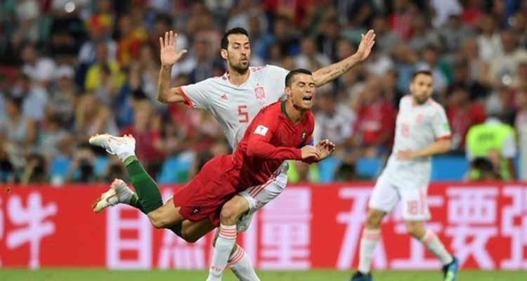 España 3 – Cristiano Ronaldo 3, en el partidazo de la primera ronda