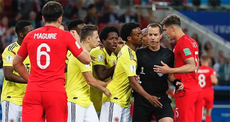 No hay razón para demandar el cuarto cambio de Inglaterra en el partido contra Colombia