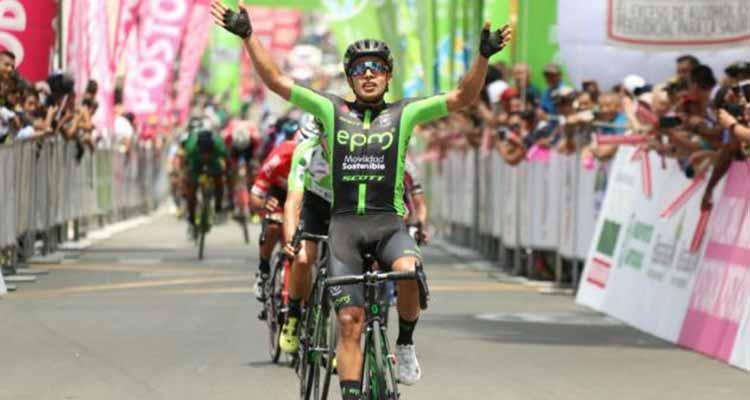 Este miércoles Vuelta a Colombia toca territorio quindiano