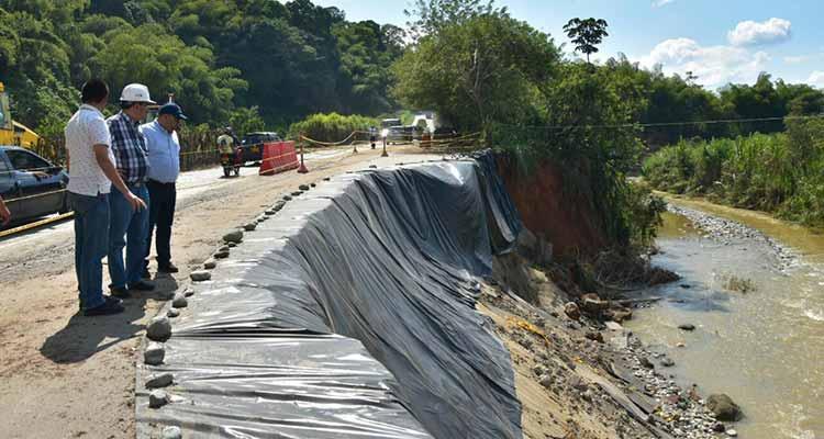 Gobernación habilitó dos carriles en vía Río Verde –Barragán
