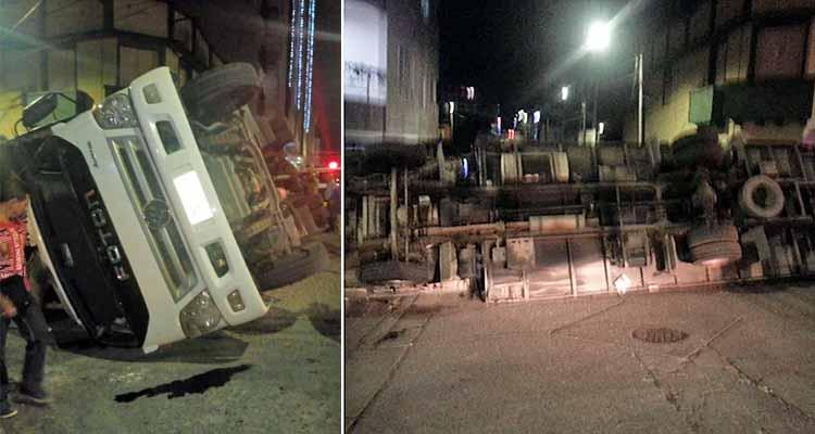 aparatoso accidente en quimbaya