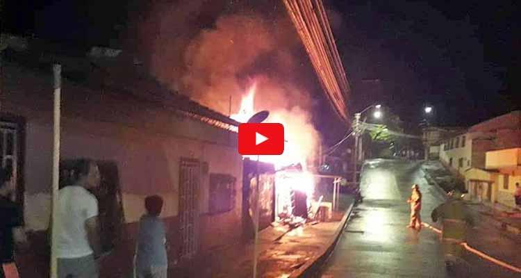 Incendio consumió vivienda en Quimbaya