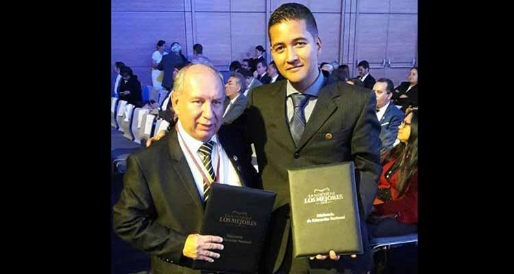 profesor quindiano y Universidad del Quindío destacados en Noche de los Mejores