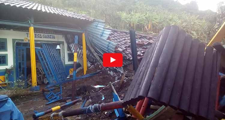 vídeo minutos antes de tragedia escuela calarcá