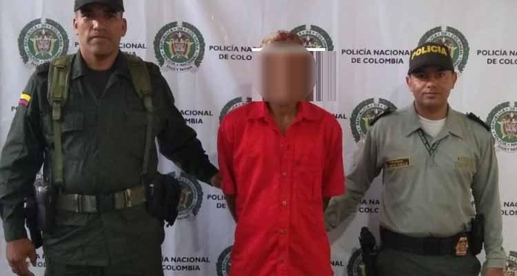 Capturado en Pijao hombre acusado de actos sexuales con menor de 14 años
