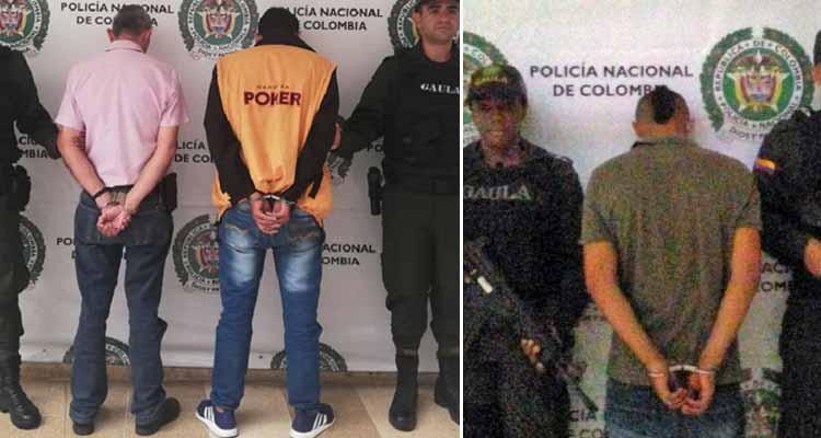 Capturados sujetos que extorsionaban a ciudadanos de Quimbaya y Armenia