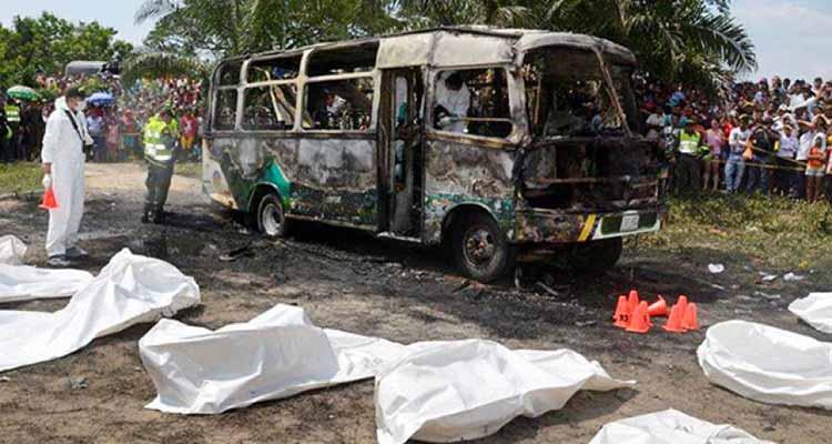 En Bogotá fue capturado conductor del bus en que murieron 33 niños en Fundación en 2014