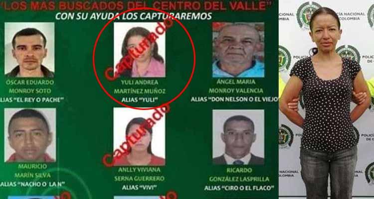En Calarcá cayó una de las delincuentes más buscadas del Valle del Cauca