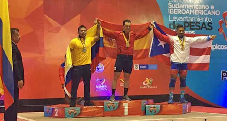 Quindiano Andica logró plata en Iberoamericano de pesas