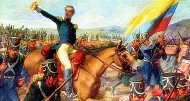 independencia Colombia 20 de julio y 7 de agosto