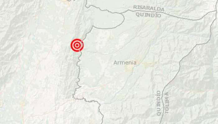 Temblor Quindío y Valle