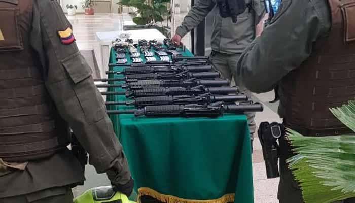 arsenal y municiones Calarcá