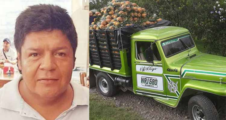 Quimbayuno murió accidente Valle