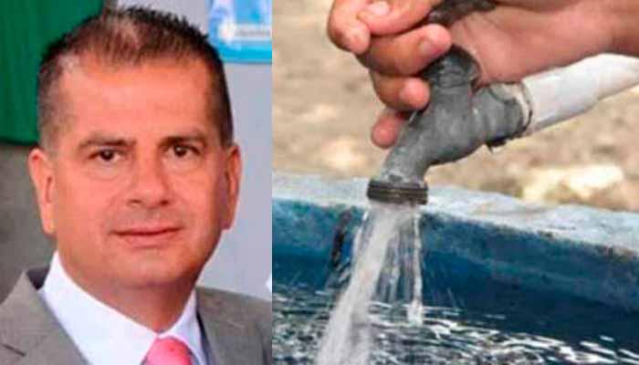 Alcalde Circasia no pagar agua