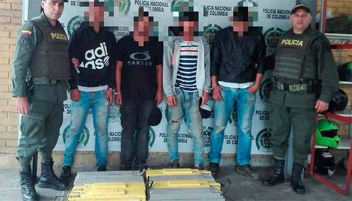 Capturados 4 ladrones en Génova