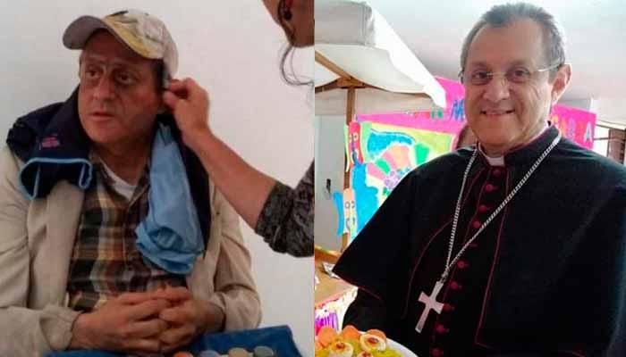 Obispo Armenia se vistió de habitante de calle