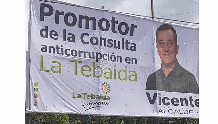 Procuraduría nunca ordenó desmonte de vallas Tebaida