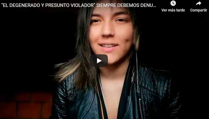 Youtuber denunció acoso sexual Filandia