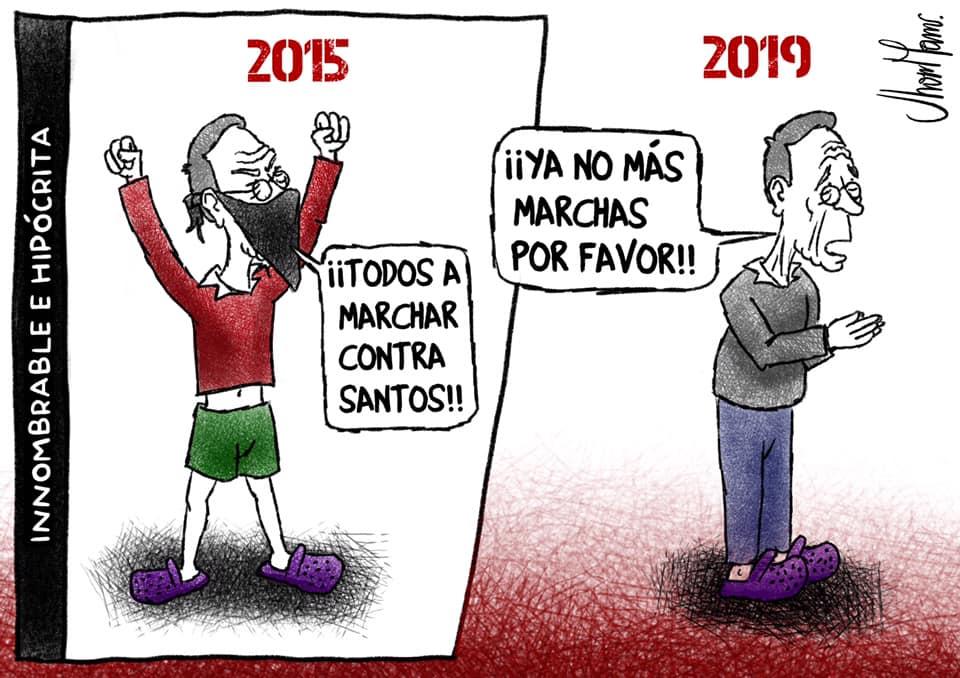 Uribe no más marchas