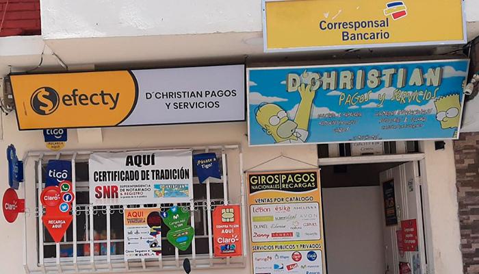 CHRISTIAN PAGOS Y SERVICIOS Montenegro