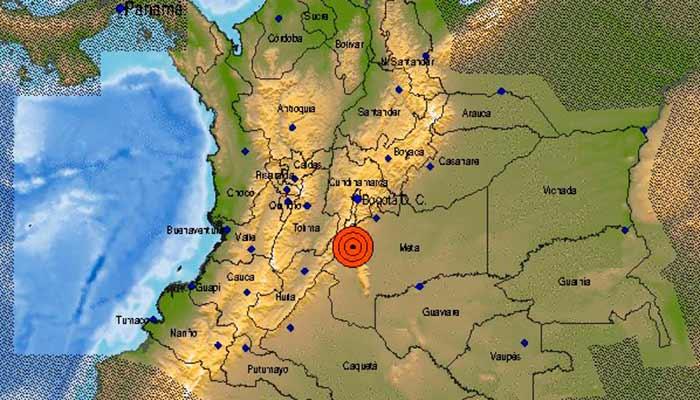 3 temblores Quindío