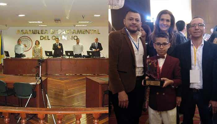 Asamblea Quindío dijo No iniciativa premio Nacional