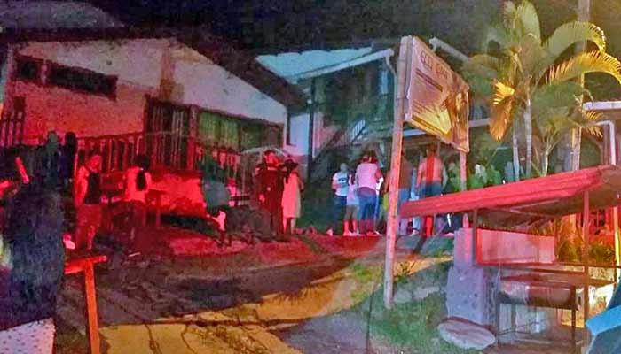 incendio restaurante Río Verde
