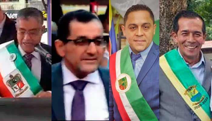 posesionaron alcaldes Calarcá Tebaida Montenegro y Córdoba