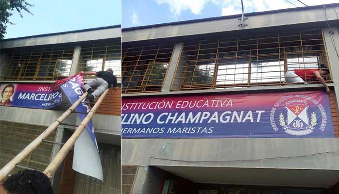 Champagnat protesta