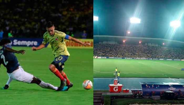 En Armenia Colombia goleó y gustó