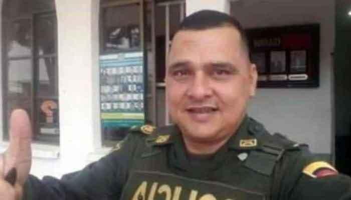 Policía murió accidente vía Caicedonia