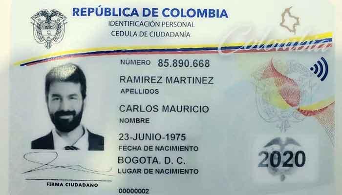 nueva cédula digital colombianos