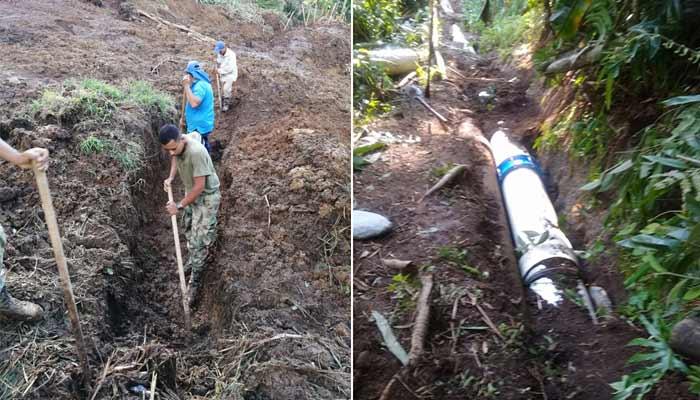 restablece agua Montenegro