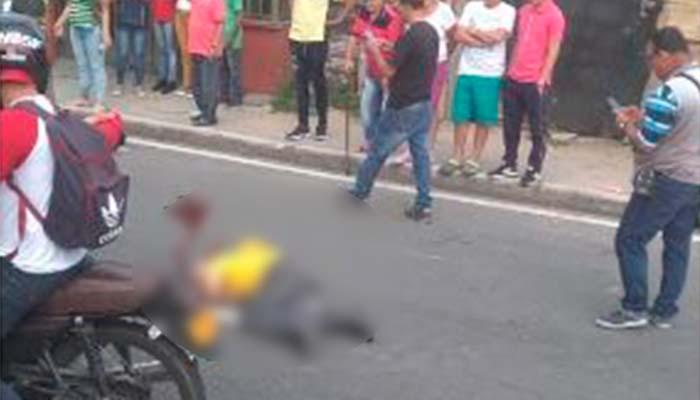 3 heridos en accidente Armenia