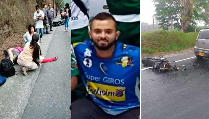 Dos motociclistas perdieron la vida Tebaida Calarcá