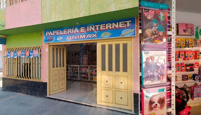 Papelería e Internet Unimax Montenegro