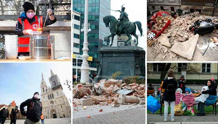 drama Croacia terremoto cuarentena