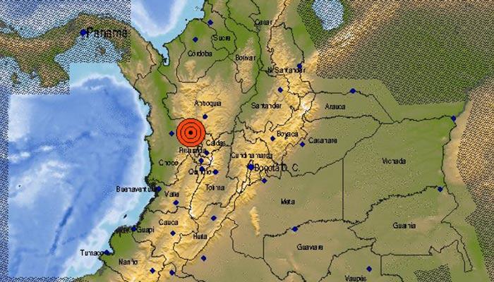 Temblor con epicentro en Antioquia se sintió en el Quindío
