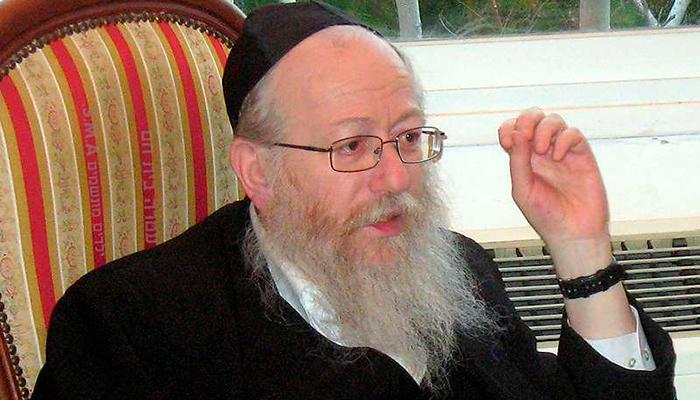 """Ministro israelí que dijo que Covid-19 era """"castigo divino a gais"""" está contagiado"""