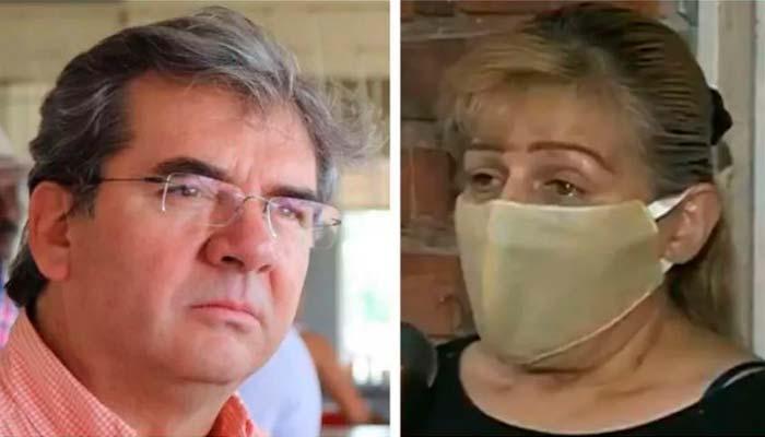 Vigilante encerrada un mes en sótano Senador Germán Varón Cotrino