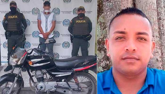 Detenido asesinar ciudadano Quimbaya