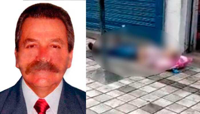 Adulto mayor murió en vía pública del centro de Armenia