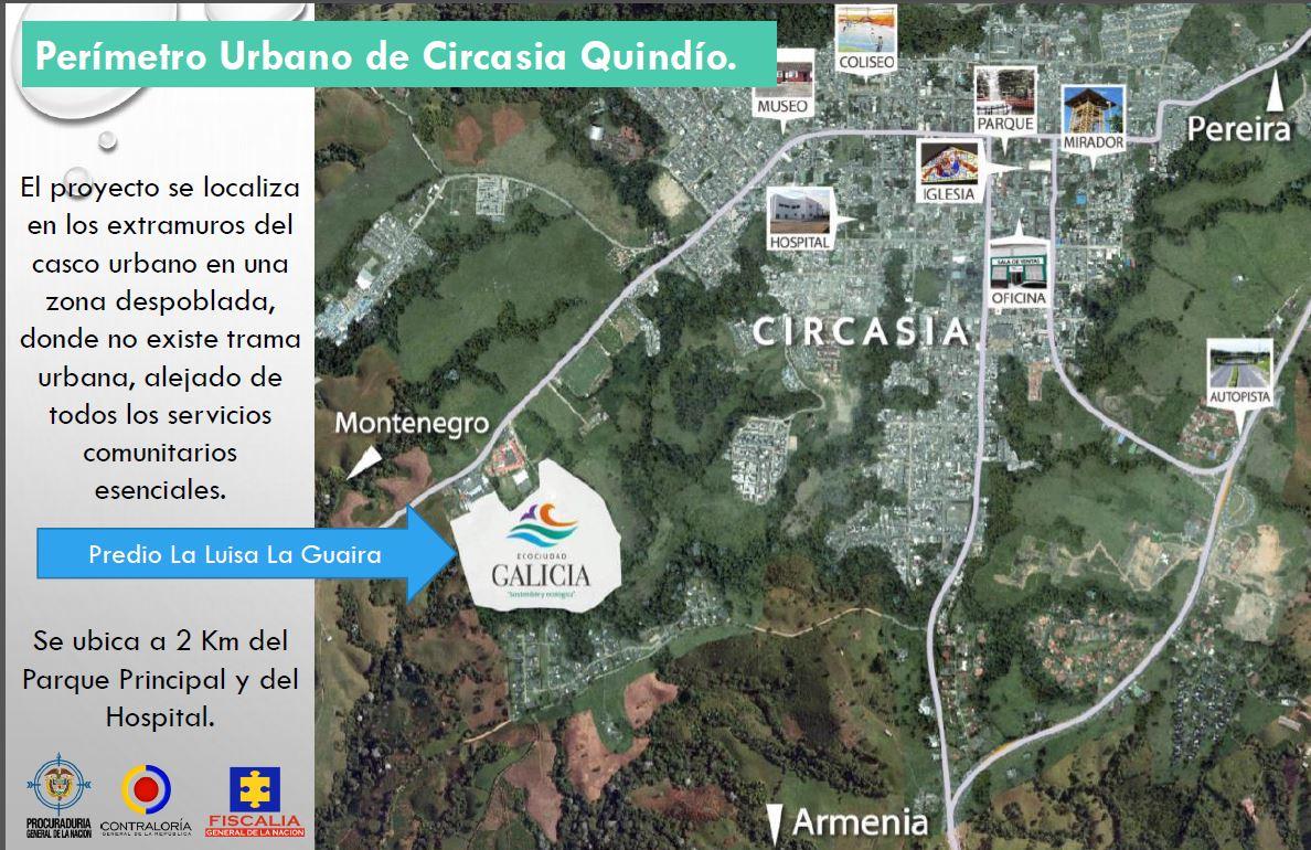 Ecociudad Galicia se proyecta de manera irregular en predios rurales 2