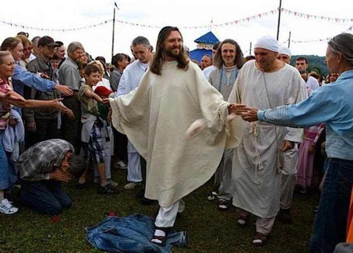 Detenido en Rusia hombre que asegura ser la reencarnación de Jesús
