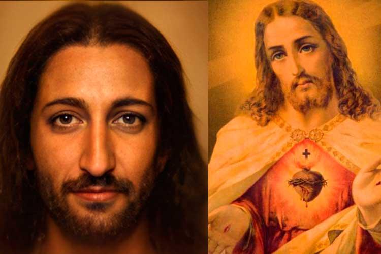 Artista reconstruyó el rostro de Jesucristo a través de Inteligencia Artificial